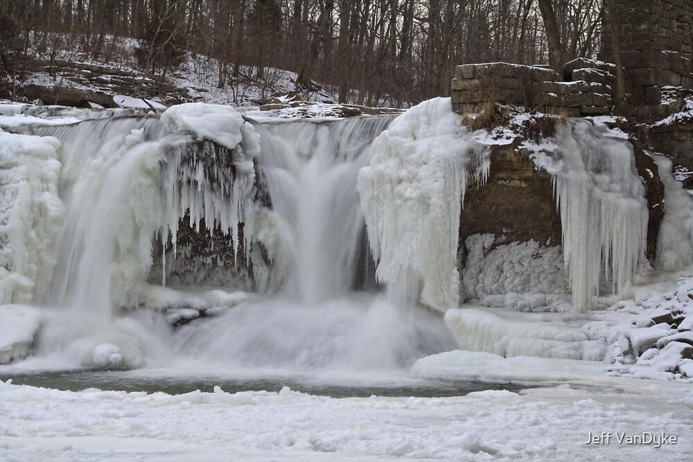 Cataract Falls - Winter #3 by Jeff VanDyke