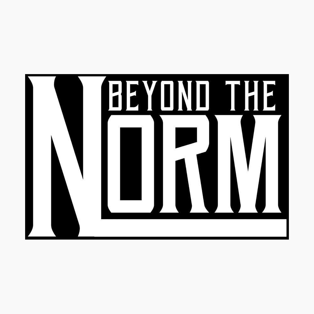 "Beyond The Norm - White"" Poster by RensDigitalArt 
