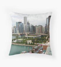 Downtown Chicago, IL Throw Pillow