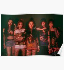 Red Velvet - BAD BOY Poster