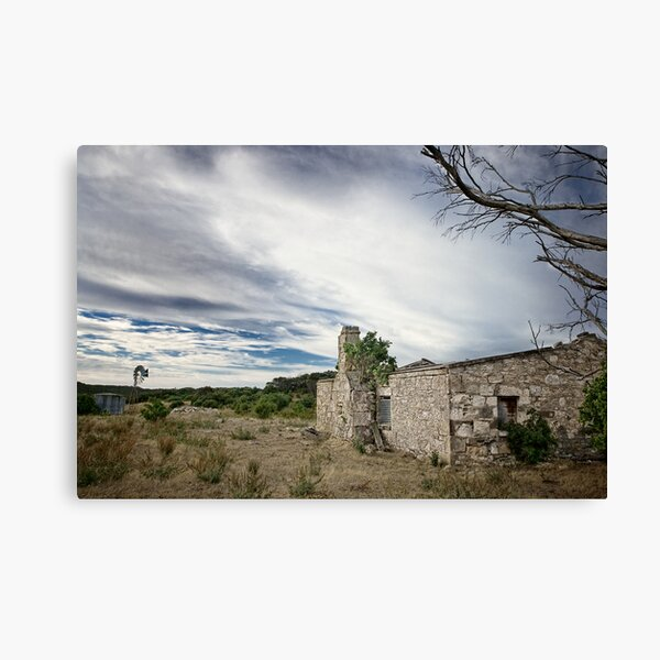Ruined! Canvas Print
