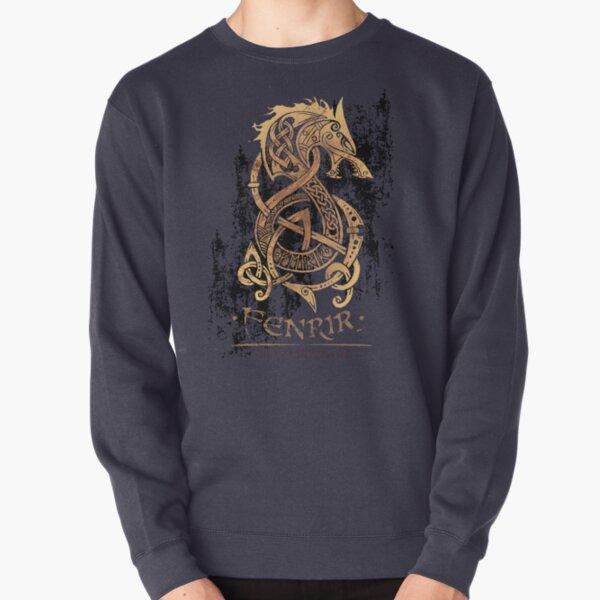 Fenrir: The Nordic Monster Wolf Pullover Sweatshirt