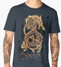 Fenrir: The Nordic Monster Wolf Men's Premium T-Shirt