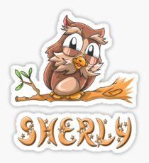 Sherly Owl Sticker