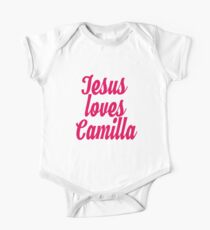 Jesus loves Camilla One Piece - Short Sleeve