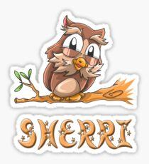 Sherri Owl Sticker
