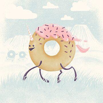 Mr. Sprinkles (Pink Frosting) by littleclyde