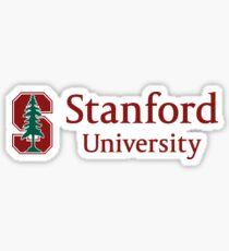 Stanford (Classic Logo w/ Name) Sticker