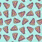 Pizza Magic // Green by nikury