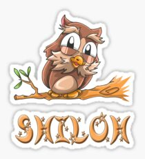 Shiloh Owl Sticker