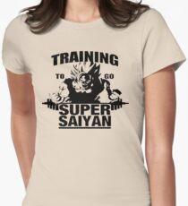 Super Saiyan Goku Shirt DBZ Super  Women's Fitted T-Shirt