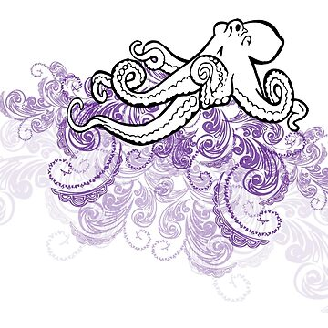 Octopus in Paisley by mrnrobinson