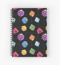 Dungeon Master Dice Spiral Notebook