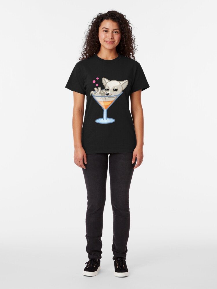 Alternate view of Chihuahua Chiwawa Dog tshirt - Dog Gifts for Chihuahua and Miniature Dog Lovers Classic T-Shirt