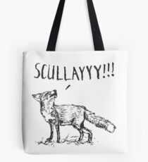 What a Certain Fox Says Tote Bag