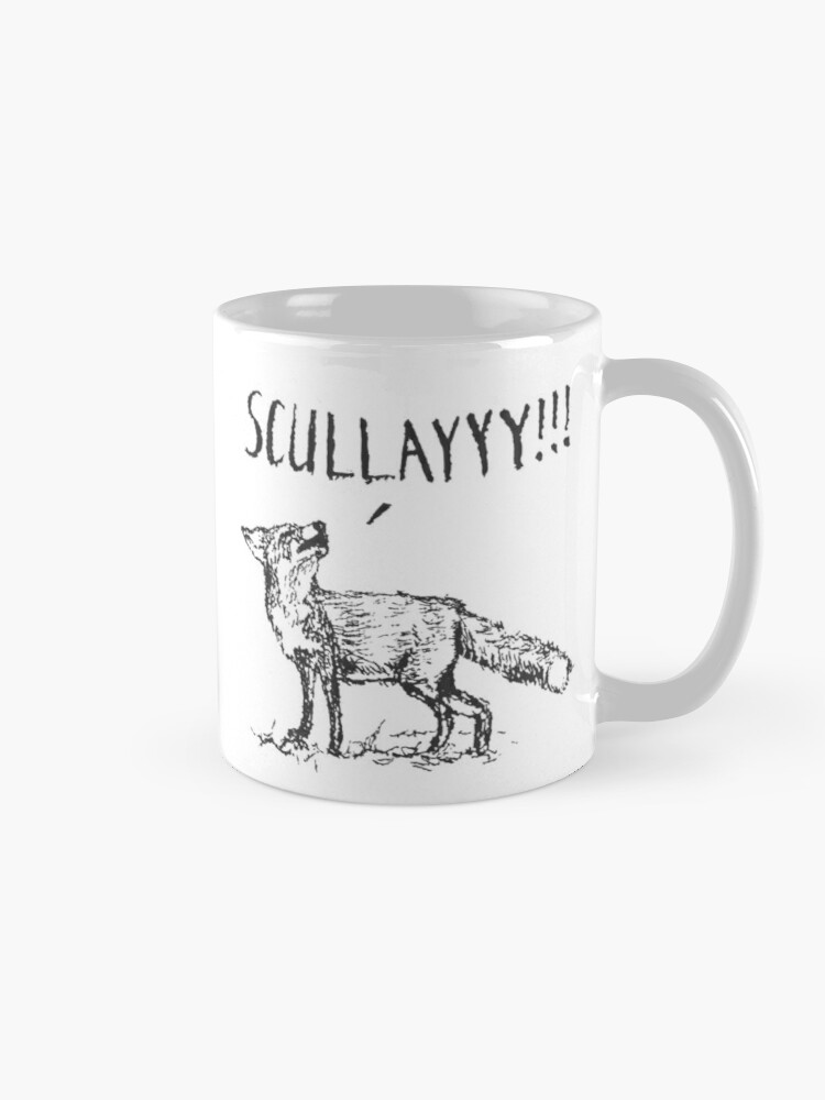 Alternate view of What a Certain Fox Says Mug