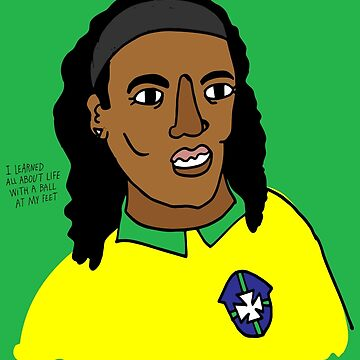 Ronaldinho Brazil Football Ball Life by emmgut