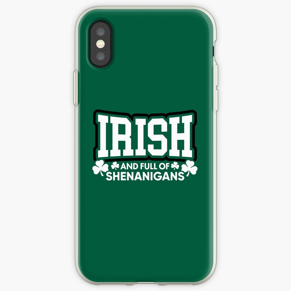 Irisch und voll von Shenanigans iPhone-Hülle & Cover