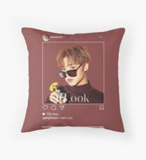 jihoon Throw Pillow