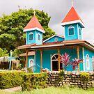 Blue Church by Tracy Riddell