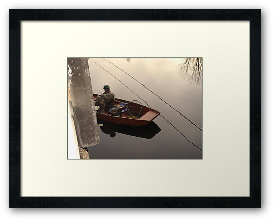 Fishing the Crappie Hole by May Lattanzio
