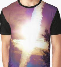 Sky Cross Sunset in Northern California Graphic T-Shirt