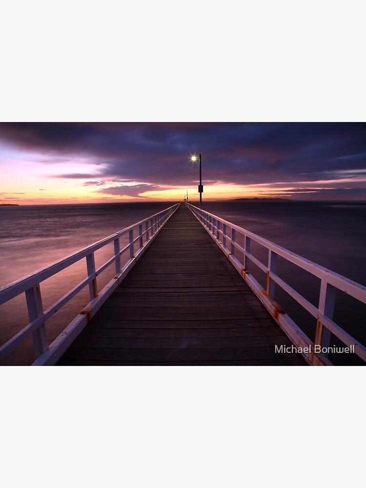 Pre-Dawn Greets Point Lonsdale Pier, Australia by Chockstone
