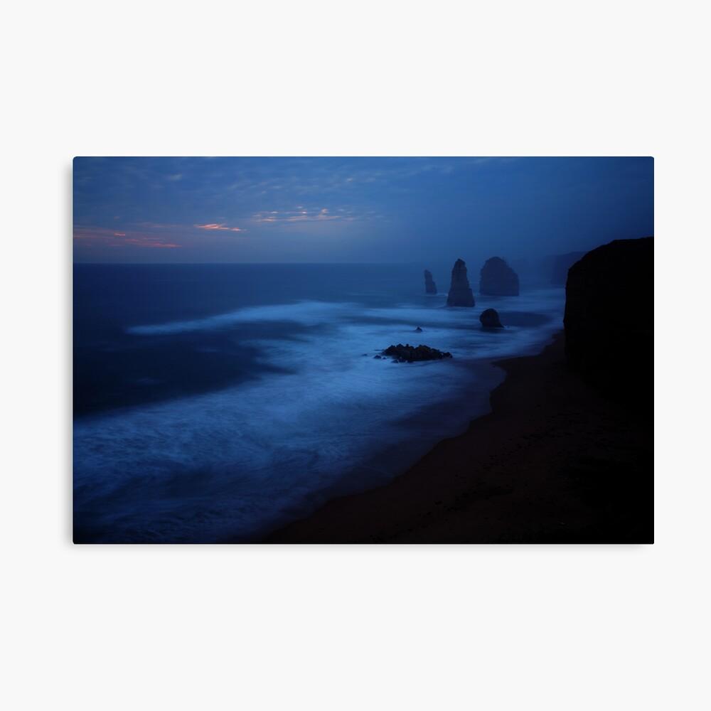 The Twelve Apostles, Dusk, Great Ocean Road, Australia Canvas Print