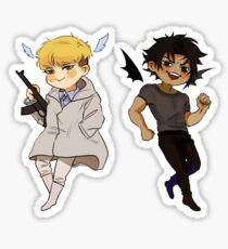 Devilman Crybaby - Akira Fudo and Ryo Asuka Sticker