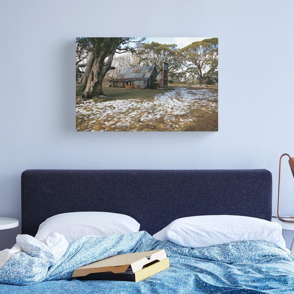 Wallace Hut, Falls Creek, Australia Canvas Print