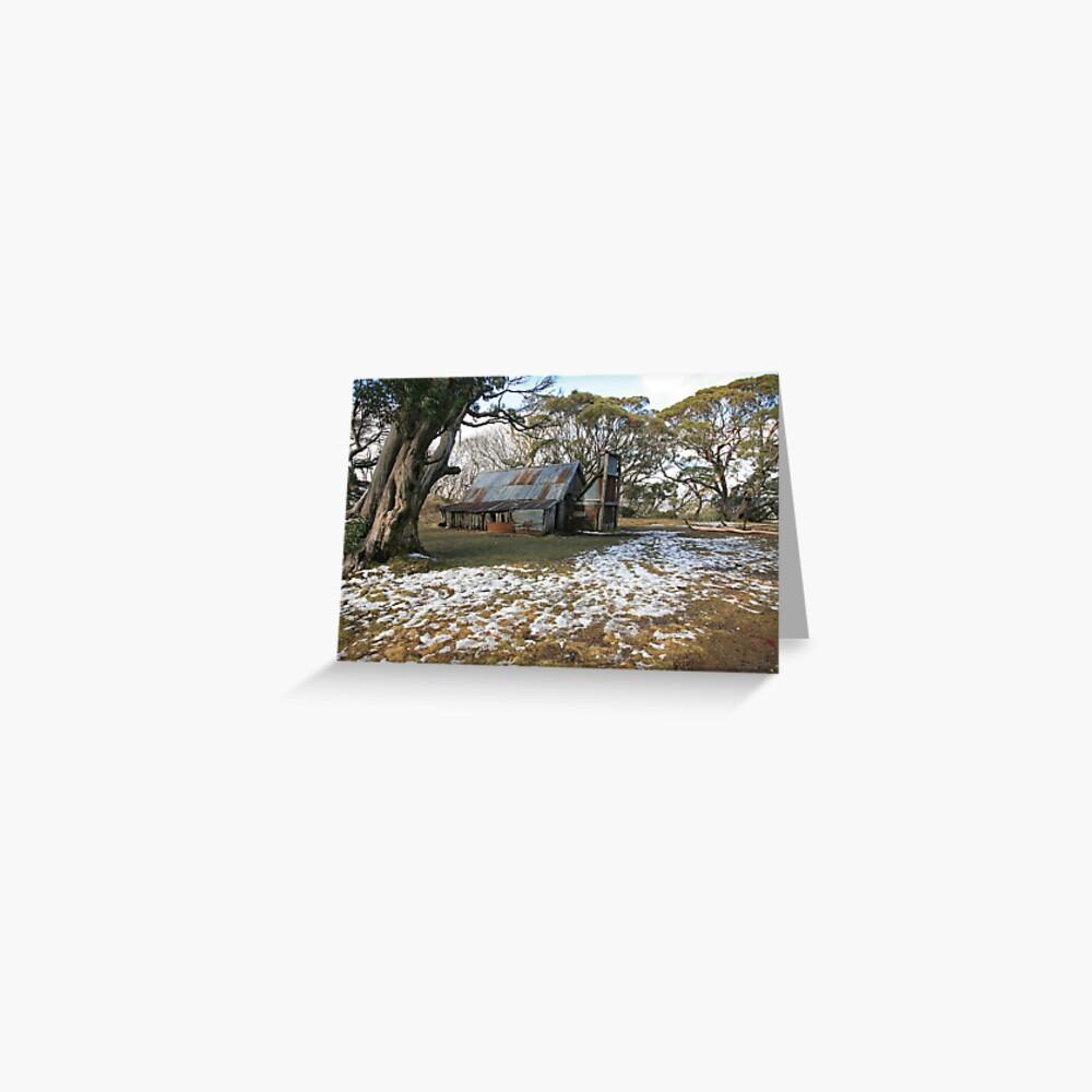 Wallace Hut, Falls Creek, Australia Greeting Card