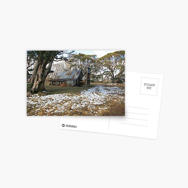 Wallace Hut, Falls Creek, Australia Postcard