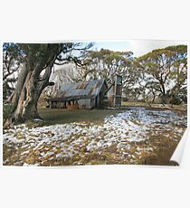 Wallace Hut, Falls Creek, Australia Poster