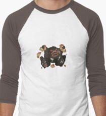 Mega Weezing Men's Baseball ¾ T-Shirt
