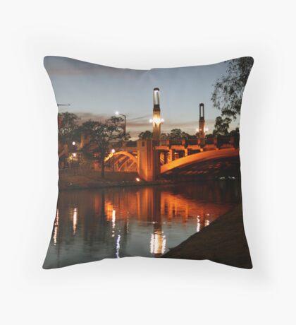 Torrens River Throw Pillow