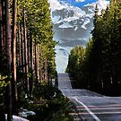 Road to Tetons by Mark Bolen