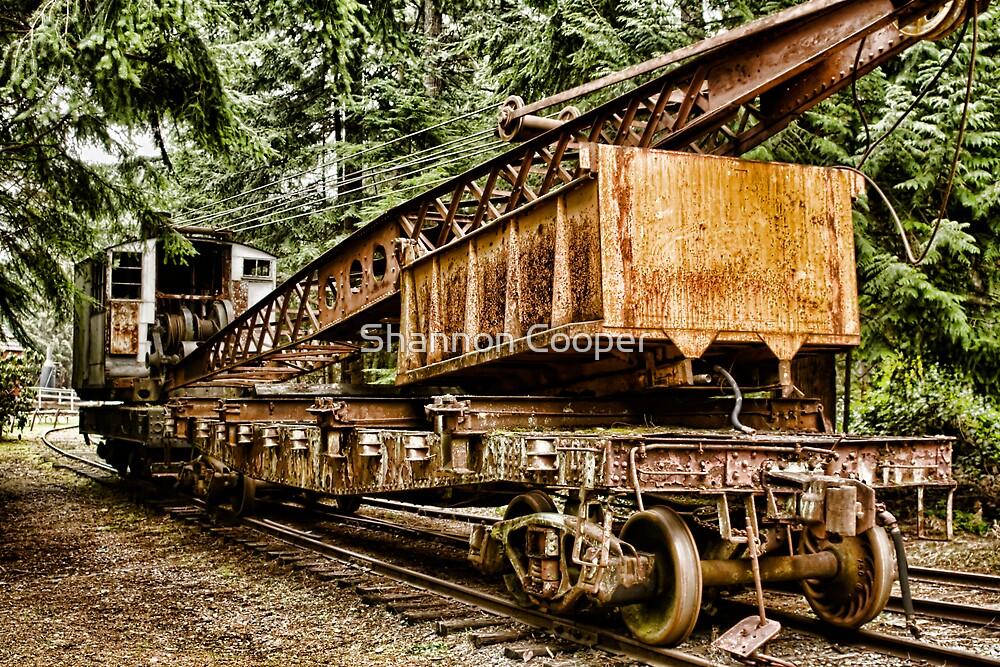Steam Era of Logging by Shannon Beauford