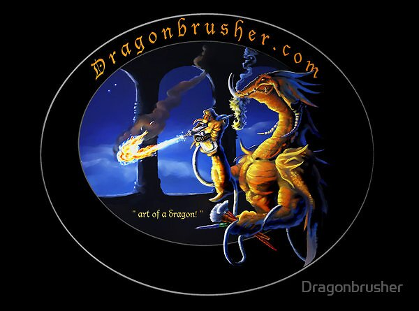 Dragonbrusher logo by Dragonbrusher