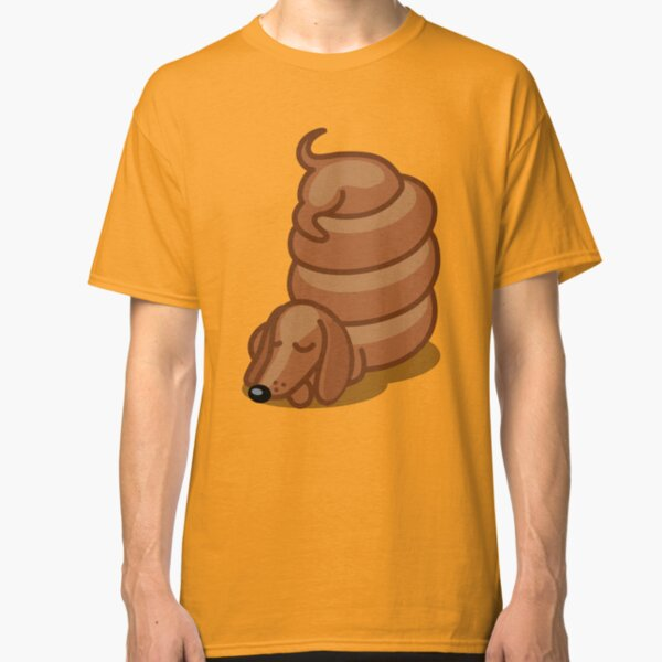 Funny Sleepy Dachshund Tshirt - Dog Gifts for Doxie and Sausage Dog Lovers Classic T-Shirt