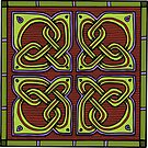 Celtic Knotwork Corners by Carrie Dennison
