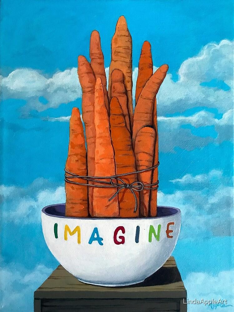 """ 10 karat "" - imaginative still life fine art painting by LindaAppleArt"