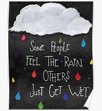 Rainbow Rain Poster