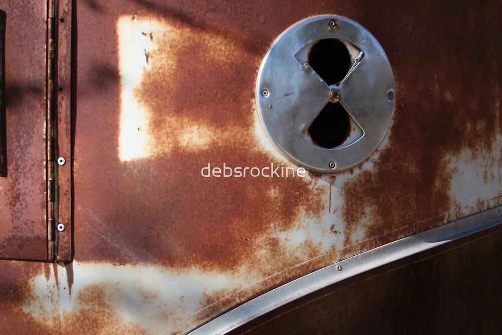 Old horse trailer by debsrockine