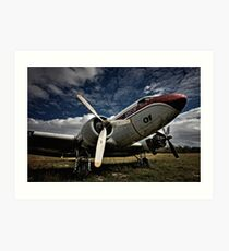 The Old DC-3 Art Print