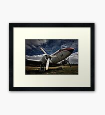 The Old DC-3 Framed Print