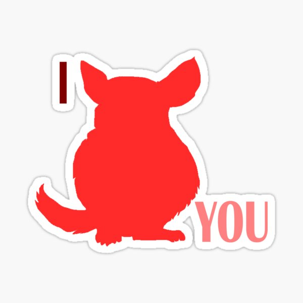 I Chincu You Sticker