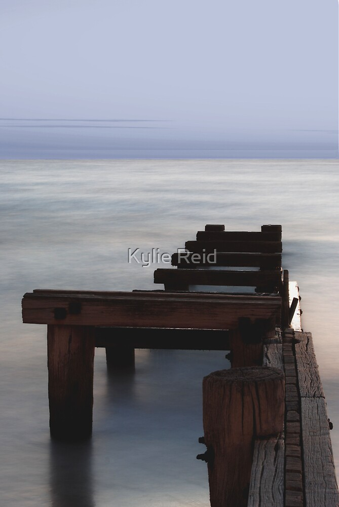 Washed Away, Port Philip Bay by Kylie Reid