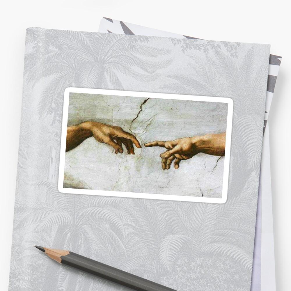 Michaelangelo Malerei Sticker