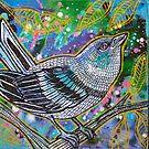 Cerulean Warbler by Lynnette Shelley