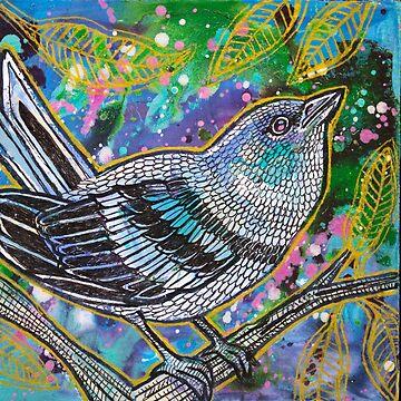 Cerulean Warbler by LynnetteShelley